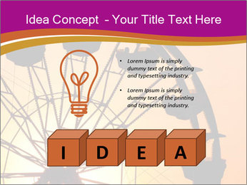 Silhouette of ferris PowerPoint Templates - Slide 80