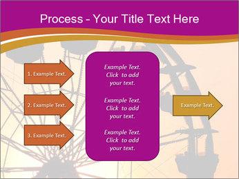 Silhouette of ferris PowerPoint Template - Slide 85