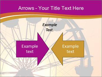 Silhouette of ferris PowerPoint Template - Slide 90