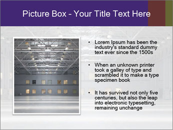 Empty storehouse PowerPoint Template - Slide 13