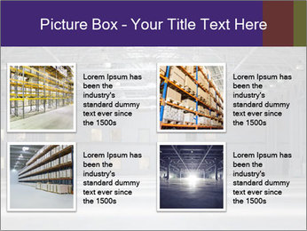 Empty storehouse PowerPoint Template - Slide 14