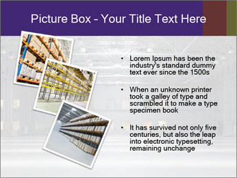 Empty storehouse PowerPoint Template - Slide 17