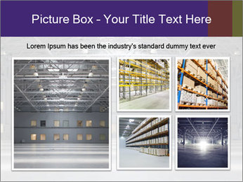 Empty storehouse PowerPoint Template - Slide 19