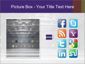 Empty storehouse PowerPoint Template - Slide 21