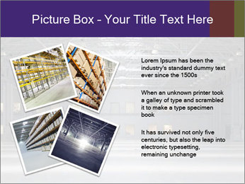 Empty storehouse PowerPoint Template - Slide 23