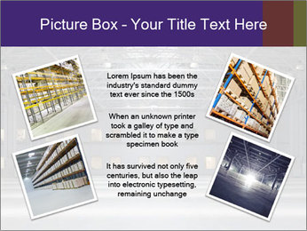Empty storehouse PowerPoint Template - Slide 24