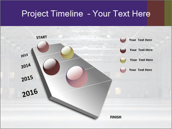Empty storehouse PowerPoint Template - Slide 26