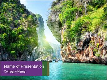 Rocks PowerPoint Template - Slide 1