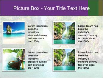 Rocks PowerPoint Template - Slide 14