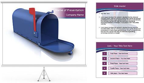 Mailbox PowerPoint Template