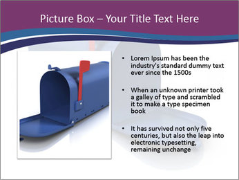 Mailbox PowerPoint Template - Slide 13