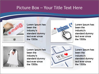 Mailbox PowerPoint Template - Slide 14