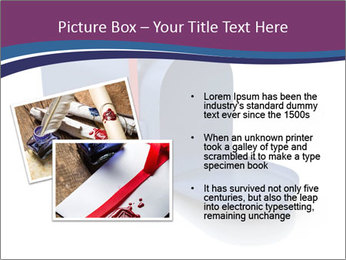 Mailbox PowerPoint Template - Slide 20