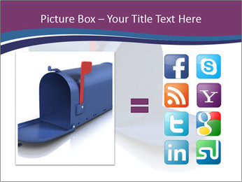 Mailbox PowerPoint Template - Slide 21