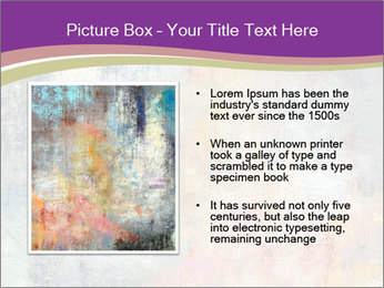 Color grunge PowerPoint Templates - Slide 13
