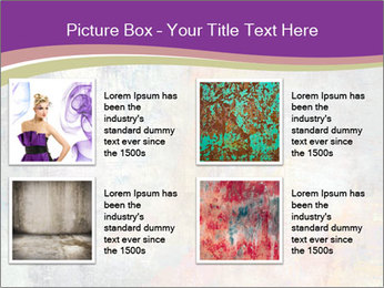Color grunge PowerPoint Templates - Slide 14