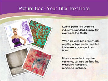 Color grunge PowerPoint Templates - Slide 23