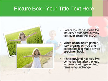 Red balloons PowerPoint Template - Slide 20
