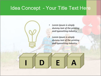 Red balloons PowerPoint Template - Slide 80