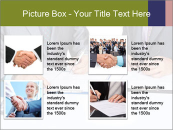 Two business people PowerPoint Templates - Slide 14