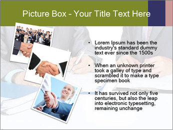 Two business people PowerPoint Templates - Slide 17