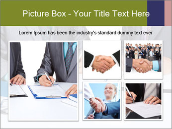Two business people PowerPoint Templates - Slide 19