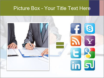 Two business people PowerPoint Templates - Slide 21