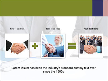 Two business people PowerPoint Templates - Slide 22