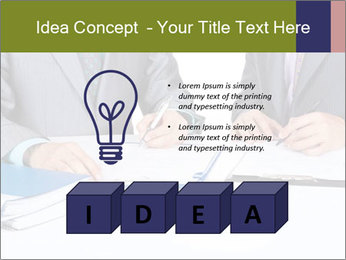 Two business people PowerPoint Templates - Slide 80