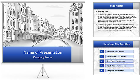 Old town PowerPoint Template