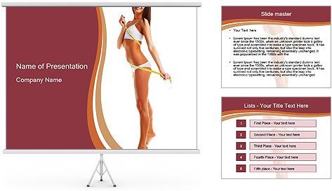 Perfect shapes PowerPoint Template