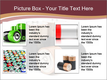 Three batteries PowerPoint Template - Slide 14