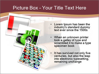 Three batteries PowerPoint Template - Slide 17