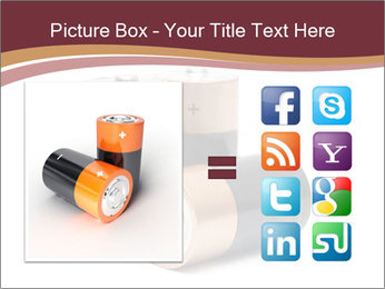 Three batteries PowerPoint Template - Slide 21