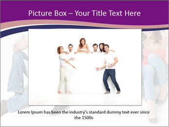 Young group happy PowerPoint Template - Slide 15
