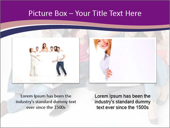 Young group happy PowerPoint Template - Slide 18