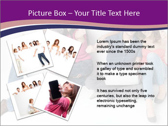 Young group happy PowerPoint Template - Slide 23