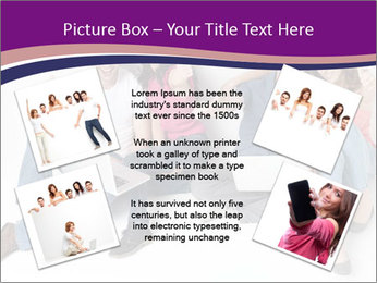 Young group happy PowerPoint Template - Slide 24