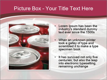 Soda pop cans PowerPoint Template - Slide 13