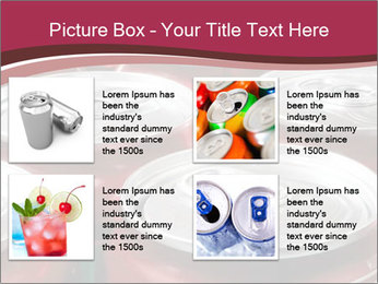 Soda pop cans PowerPoint Template - Slide 14