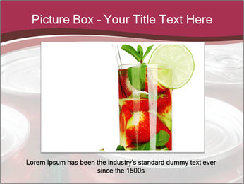 Soda pop cans PowerPoint Template - Slide 15