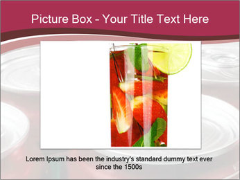 Soda pop cans PowerPoint Template - Slide 16
