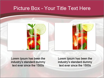 Soda pop cans PowerPoint Template - Slide 18