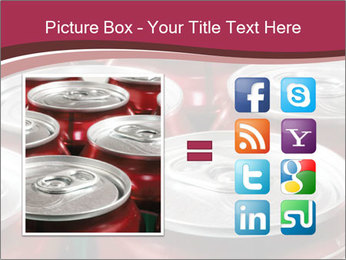 Soda pop cans PowerPoint Template - Slide 21