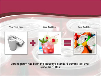 Soda pop cans PowerPoint Template - Slide 22