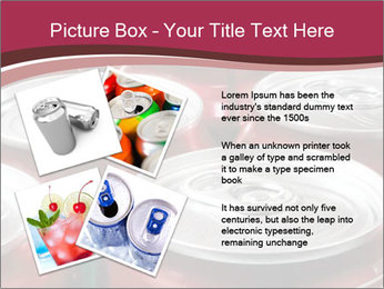 Soda pop cans PowerPoint Template - Slide 23