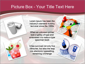 Soda pop cans PowerPoint Template - Slide 24
