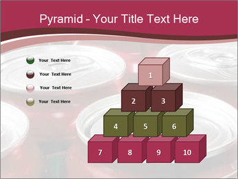 Soda pop cans PowerPoint Template - Slide 31