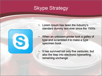 Soda pop cans PowerPoint Template - Slide 8
