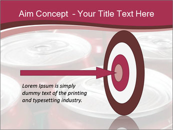 Soda pop cans PowerPoint Template - Slide 83